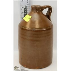 BROWN CORN WHISKEY JUG