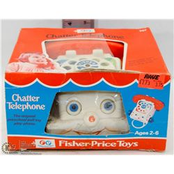1974 FISHER PRICE CHATTER PHONE.