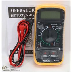 NEW DIGITAL MULTIMETER WITH LEADS