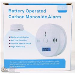 NEW BATTERY OPERATED CARBON MONOXIDE DETECTOR