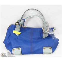 NEW BLUE SORENTINO HANDBAG