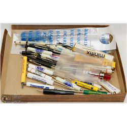 BOX OF ASSORTED SCREWDRIVERS