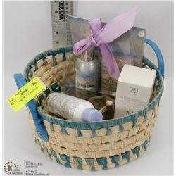 NEW BASKET W/NEW PRODUCTS - HOME