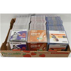 FLAT OF BLANK DVD+R