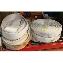 LARGE LOT OF FIRE HOSES