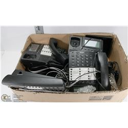 BOX OF BUSINESS MULTI-LINE TELEPHONES