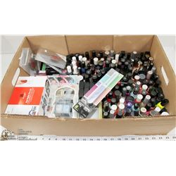 150 + NAIL POLISHES, INCLUDING LONDON BUTTER, OPI