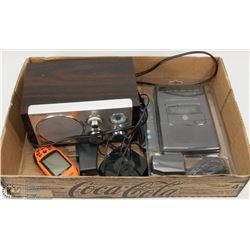 ELECTRONICS - MEGELLAN EXPLORIST 100 GPS, ROKU, GE