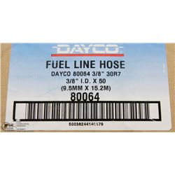 "NEW CASE OF 3/8"" X50' FUEL LINE HOSE"
