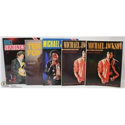 MICHAEL JACKSON COLLECTOR BOOKS AND MORE