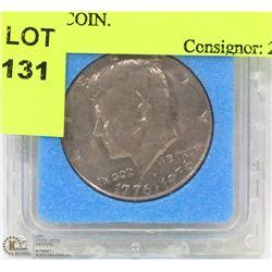 1776 - 1976 BI CENTENNIAL US HALF DOLLAR COIN.