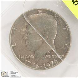 1976 AMERICAN KENNEDY HALF DOLLAR COIN