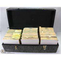 DJ CASE OF 300+ 1970-80'S 45 RPM RECORDS