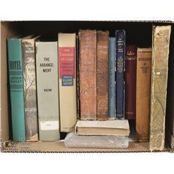 ESTATE BOX OF VINTAGE BOOKS