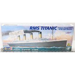 UNOPENED RMS TITANIC PLASTIC MODEL