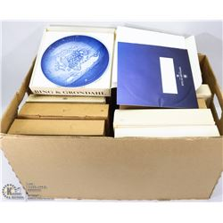 BOX OF COLLECTOR PLATES