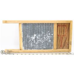 VINTAGE NATIONAL WASHBOARD CO METAL AND WOOD