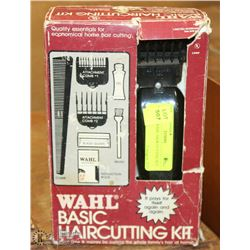 VINTAGE WAHL HAIR CUTTING KIT.