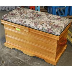 SOLID WOOD HANDMADE CEDAR LINED CHEST