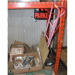 PALLET OF TILES, TOOLS FOR TILING AND HEAVY DUTY