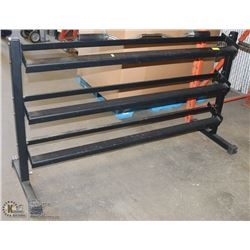 HEAVY DUTY DUMBELL STAND SOLD WITH HEAVY DUTY