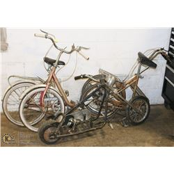 LOT OF VOYAGEUR AND PONY  FOLDING BIKES