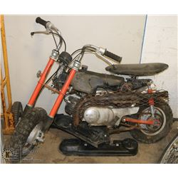 SUZUKI  50CC PA 50 GAS ENGINE BIKE
