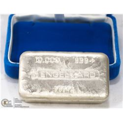ESTATE 10 OUNCE SILVER BAR - .999+ PURE