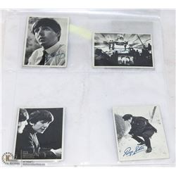 LOT OF 8- 1964 TOPPS BEATLES CARDS.