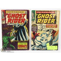 THE GHOST RIDER COMICS --- THE ORIGINAL 1967 SERIE