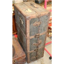 "ANTIQUE TRUNK 40""X22""X14""H"
