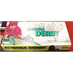 AURORA DERBY HORSE RACE GAME .