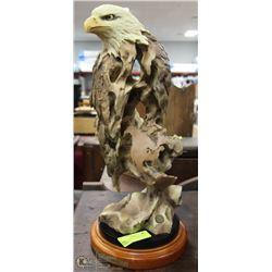 EAGLE'S DOMAIN - LARGE EAGLE SCULPTURE