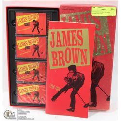 UNOPENED JAMES BROWN 4 CASSETTE 35TH