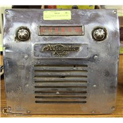 OLD AUTOMATIC RADIO FOR 1964 VEHICLE.