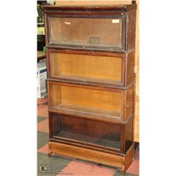ANTIQUE STACKING LAWYERS BOOKCASE