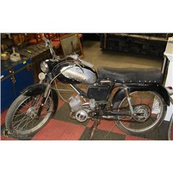 1961 PEAUGOT 49CC MOPED, PROJECT, ENGINE IS NOT