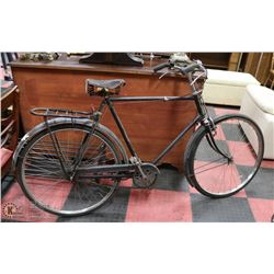 1930S MENS LARGE FRAME BICYCLE.