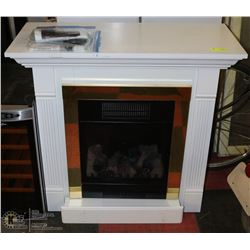 ESTATE FIREPLACE MANTLE WITH INSERT