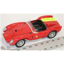 DIE CAST 1:18 SCALE FERRARI.