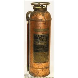 VINTAGE DOMINION 2-1/2 GALLON COPPER FIRE
