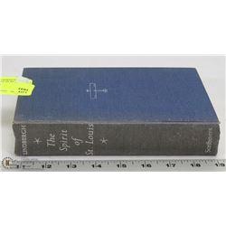 1953 SPIRIT OF ST LOUIS LINDENBURG HARDCOVER BOOK