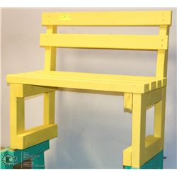 GREEN KIDS BENCH