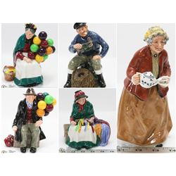 FEATURED ROYAL DOULTON PORCELAIN FIGURINES
