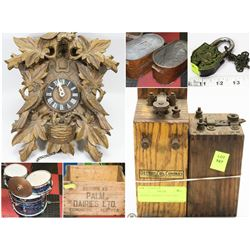 FEATURED ANTIQUE STORE CLOSURE COLLECTIBLES