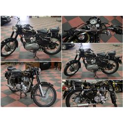 FEATURED 1962 ROYAL ENFIELD BULLET MOTERCYCLE
