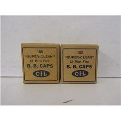 C-I-L 22cal BB caps