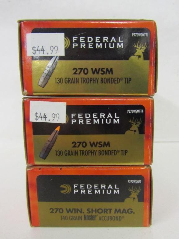 270 WSM Ammo