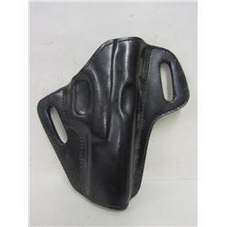 G17 Black Leather Pistol Holster