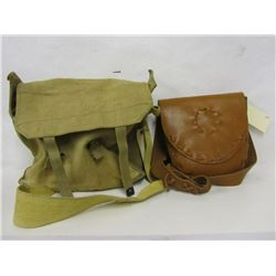 Possibles Bag and Canvas Haversack